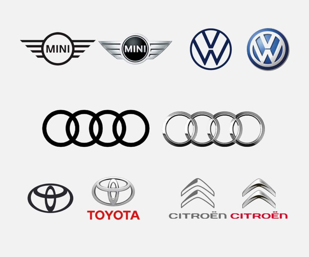 Could Your Logo Learn Something From Car Manufacturers Mjs Media