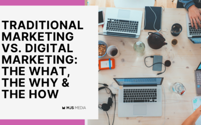 Traditional Marketing vs. Digital Marketing: The What, The Why & The How